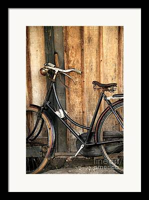 Bi-cycle Framed Prints