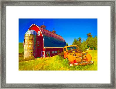 Parked In Front  II Framed Print