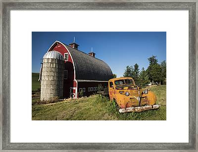Parked In Front  Framed Print by Jon Glaser