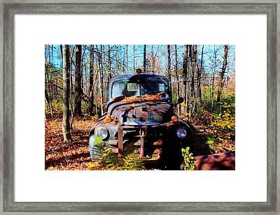 Parked Framed Print by Tom Johnson