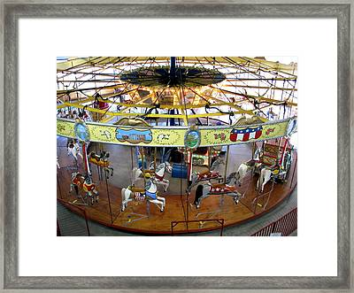 Parker Carry-us-all Framed Print by Keith Stokes