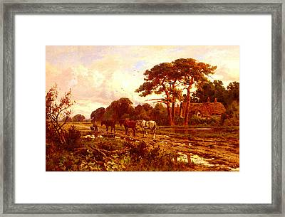 Parker Henry H The End Of The Day Framed Print