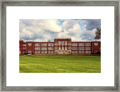 Parkersburg High School - West Virginia Framed Print by L O C