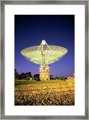 Parkes Radio Telescope Framed Print by Yury Prokopenko