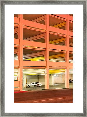 Parking Framed Print by Christian Heeb