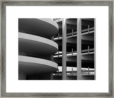 Parking Garage Framed Print by David April