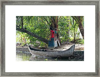 Framed Print featuring the photograph Parking Spot by Marion Galt