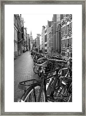 Parking Spot Framed Print by Sophie Vigneault