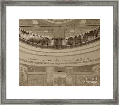 Parkland Rotunda Framed Print