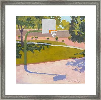 Parkside Hoops Framed Print