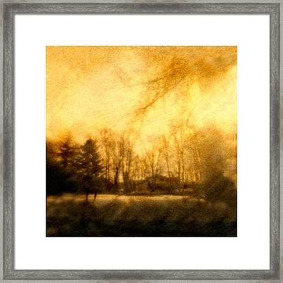 Parkview Ave Framed Print by Diana Ludwig