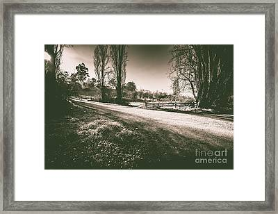 Parkway Drive Framed Print