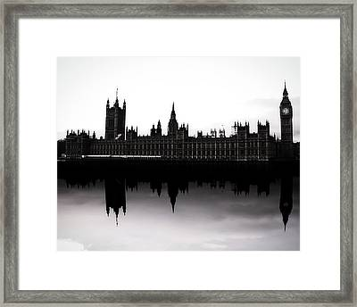 Parliament Framed Print by Martin Newman