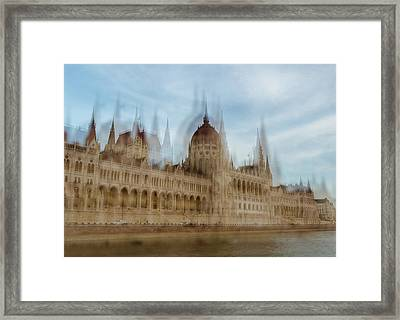 Framed Print featuring the photograph Parliamentary Procedure by Alex Lapidus