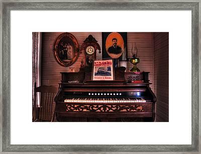 Parlor Organ Framed Print by Mike Flynn