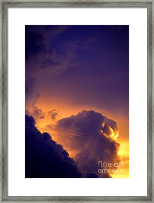 Parousia Framed Print by Thomas R Fletcher