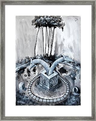 Parque De Diversion Framed Print