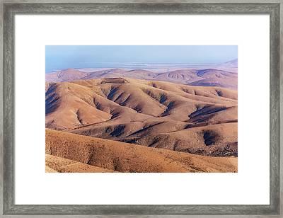 Parque Rural De Betancuria - Fuerteventura Framed Print