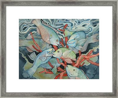 Parromania Framed Print