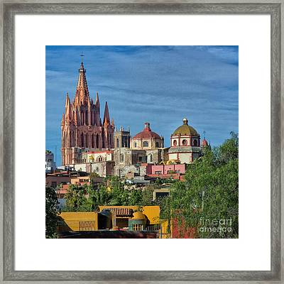 Parroquia  Framed Print by Nicola Fiscarelli