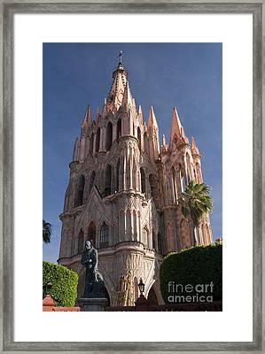 Parroquia De San Miguel Framed Print by Gloria & Richard Maschmeyer - Printscapes