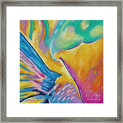 Parrotfish 1  Square Framed Print by John Clark