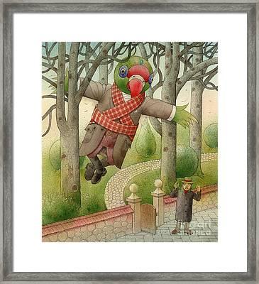 Parrots 01 Framed Print by Kestutis Kasparavicius
