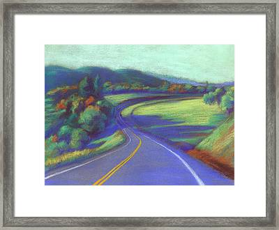 Parrots Ferry Road Framed Print