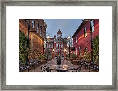 Parry Court Framed Print