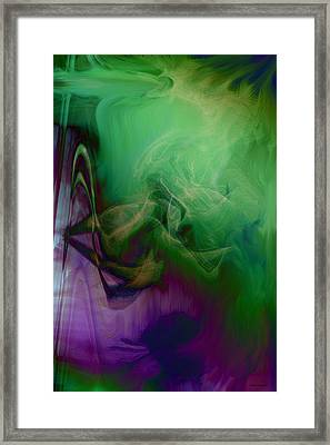 Part Of Rapture Framed Print by Linda Sannuti