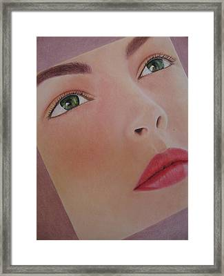 Part Of You 1 Framed Print by Lynet McDonald