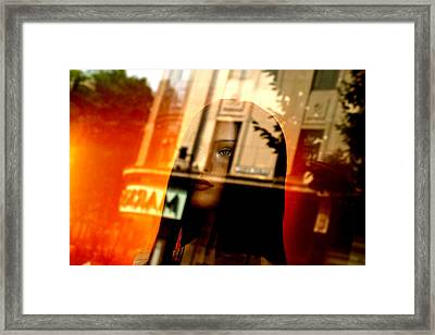 Part Of Your Life But You Never See Me Framed Print by Jez C Self
