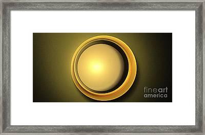 Partial Eclipse Framed Print by Kim Sy Ok