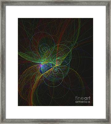 Particle Life Framed Print