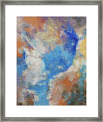 Parting Clouds Framed Print