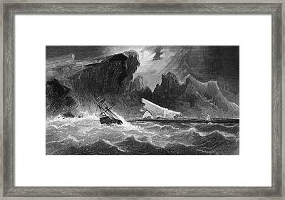 Parting Hawsers Off Godsend Ledge From Framed Print by Vintage Design Pics