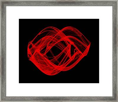 Parting Wave I Framed Print