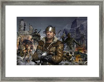 Partisan And Rebels On The Left Framed Print
