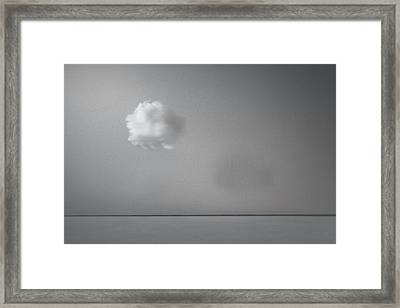Partly Cloudy Framed Print by Scott Norris