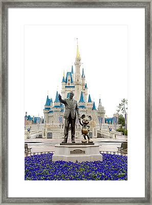 Partners Framed Print by Greg Fortier