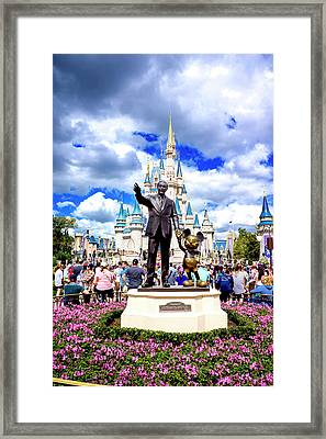 Framed Print featuring the photograph Partners Two by Greg Fortier