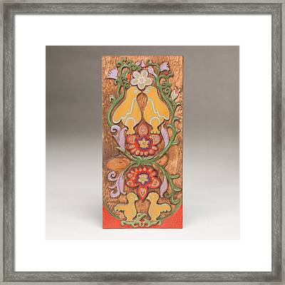 Partridge In A Pear Tree Framed Print by James Neill