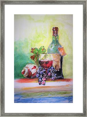 Party Arrangement Framed Print
