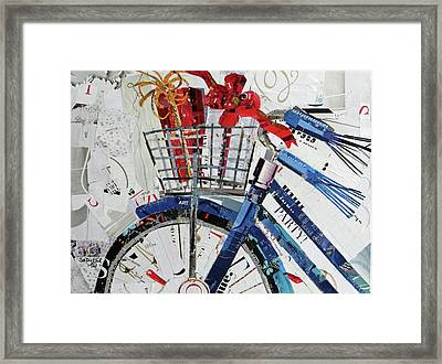 Party Bike Framed Print by Suzy Pal Powell