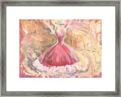 Party Girl Framed Print