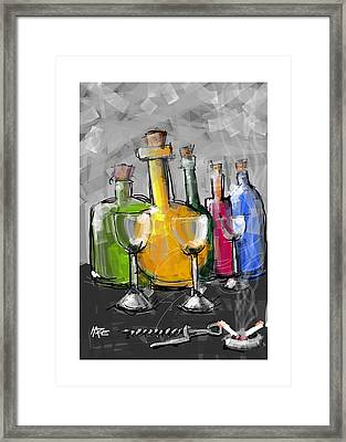 Party Framed Print by Haze Westerlund