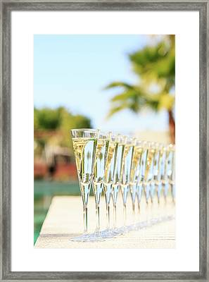 Party Outdoors Framed Print