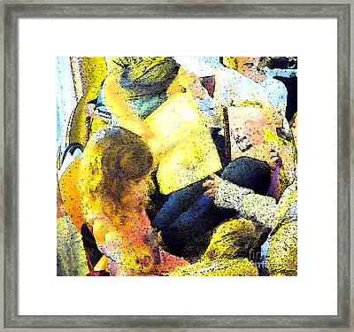 Party Overload Framed Print by JoAnn SkyWatcher