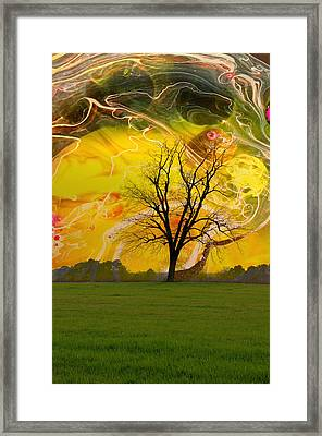 Party Skies Framed Print by Jan Amiss Photography