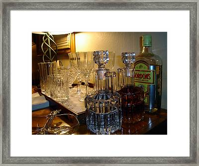 Party Time Framed Print by Saad Hasnain